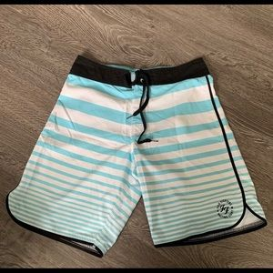 Other - Foo Fighters Billabong Shorts & Chevy Metal Tee